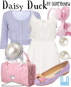 Daisy Duck (Disney) Inspired Outfit