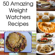 50 Amazing Weight Watchers Recipes - Skinny & Delicious Southwestern Slow Cooker Chicken