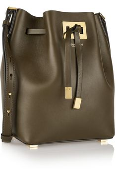 Michael Kors Collection - Miranda medium leather bucket bag 6af86879f5ea7