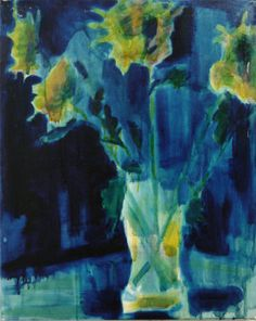 Yellow Chrysanthemums #2 oil on canvas  40x51cm