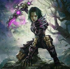 Neverwinter focused acclaimed female tiefling