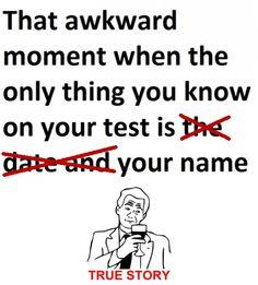 Chemistry tests...