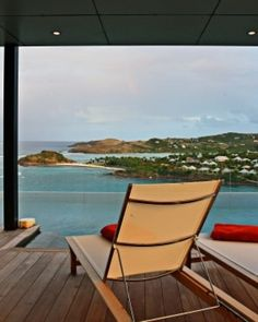 Take in the views from your aerie-like perch on St. Bart's north shore. #Jetsetter #JSIslandTime