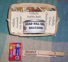 HILLBILLY or REDNECK Gift Basket Gag Gift: Very Funny!