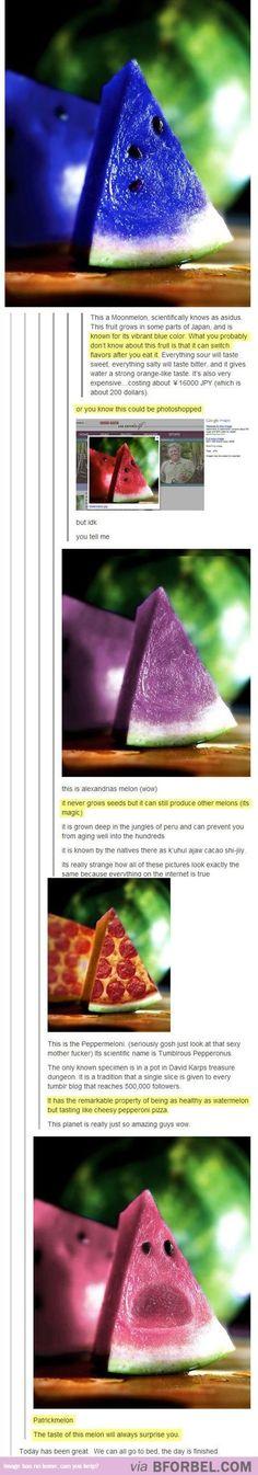 Photoshopped Melons…