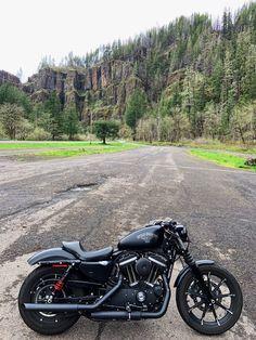 Harley Davidson News – Harley Davidson Bike Pics Sportster Iron, Harley Davidson Sportster 1200, Black Harley Davidson, Harley Davidson Bikes, Royal Enfield Wallpapers, Iron 883, Bobber, Sporty, Instagram