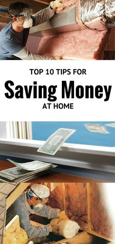 the top 10 tips for saving money at home - our best projects, hints and tips for budget-conscious homeowners.