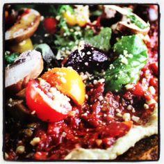 #Raw Pizza from Mimi Kirk