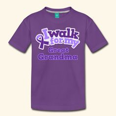 inktastic Alzheimers Awareness Grandma Lupus Ribbon Fibromyalgia Toddler T-Shirt