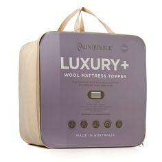 The Deluxe Wool Mattress Topper has a unique five layer wool and cotton design to reduce aches and rejuvenate the body. Made in Australia, the Deluxe mattress topper regulates body temperature, is low allergy and can be reversed for summer and winter, perfect for the ultimate sleeping experience.