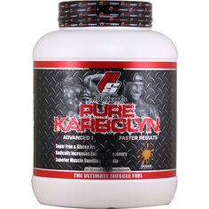 ProSupps Pure Karbolyn Orange 4.4 lbs | Regular Price: $79.99, Sale Price: $47.99 | OvernightSupplements.com | #onSale #supplements #specials #ProSupps #PreWorkout  | PURE KARBOLYNAdvanced Formula Faster ResultsSugar Free Gluten Free Radically Increases Energy RecoverySuperior Muscle Swelling FormulaWhat is Karbolyn Karbolyn is a homopolysaccharide relatively complex carbohydrate Karbolyn is made up of many monosaccharides joined together by glycosidic bonds These are very la
