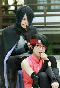 Uchiha Sasuke and Sarada