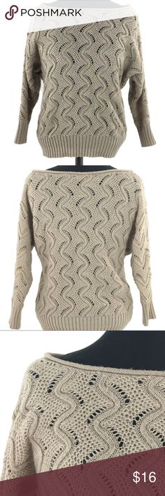 b7cd1911c7 LC Lauren Conrad Off The Shoulder Sweater S Knit LC Lauren Conrad Off The  Shoulder Sweater