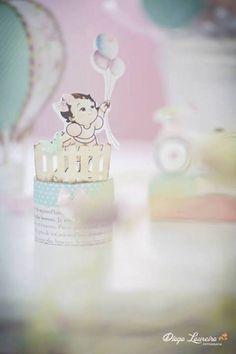 Pastel Rainbow Hot Air Balloon Party via Kara's Party Ideas KarasPartyIdeas.com #RainbowParty #HotAirBalloon #PartyIdeas #PartySupplies (42)
