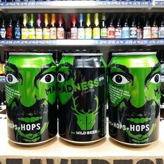 New offer. Madness IPA cans from @wildbeerco - 3 for 6.50