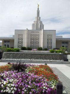 """LDS temple in Idaho Halls. TrinaBoice.com  - MormonFavorites.com  """"I cannot believe how many LDS resources I found... It's about time someone thought of this!""""   - MormonFavorites.com"""