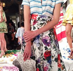 up close and personal at Alice and Olivia