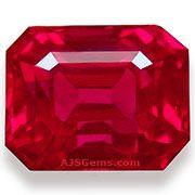 Burmese Ruby /  info. & stones