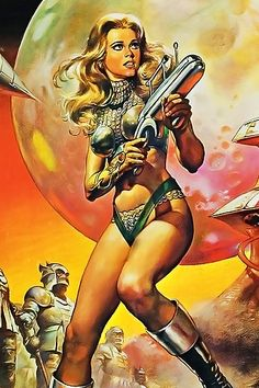 "Wonderful Barbarella ... Thanks to Colleen alias @Scorpio 333 ****If you're looking for more Sci Fi, Look out for Nathan Walsh's Dark Science Fiction Novel ""Pursuit of the Zodiacs."" Launching Soon! PursuitoftheZodiacs.com****"