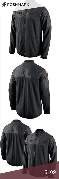 bd95a332f Rare Patriots Salute to Serve Nike Jacket. Great for New England sports  fans!