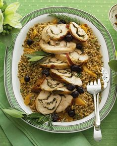 Tuscan-Roast Turkey Breast - Martha Stewart Recipes. Similar to the recipe in the November 2011 issue. We made it that year and we'll be making it again!