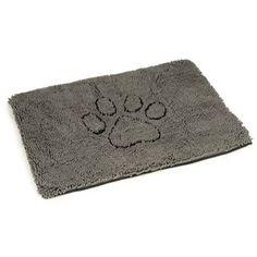 Dirty Dog Doormat 88cm Grey Doormat, Grey, Dogs, Decor, Ash, Decoration, Gray, Decorating, Pet Dogs