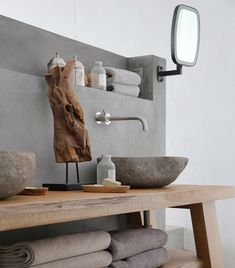To some it's just a detail, to others it's the center piece of a bathroom. These sinks are definitely the latter and inspire some sink-envy, don't they? If you hadn't even considered the sink as a statement piece, have a look at our list of favourite sinks that range from modern to industrial to exotic. Source: Lonny Source: Luigi Rosselli Architects Source: Michaelis Boyd Source: Vancouver Vanity Source: Georgina Jeffries Source: Yellowtrace Source: Fired Earth Source: Michaelis Boyd via…
