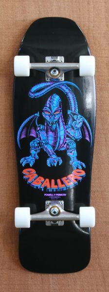 "Powell 31"" Caballero Mechanical Dragon Skateboard Complete"
