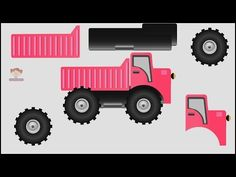 Learn Colors with Truck Game For Children, Teach Colours, Baby Kids Learning Videos by Baby Rhyme - YouTube