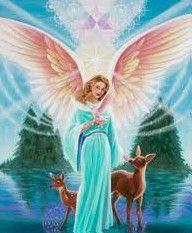 """Aartsengel Ariël  Thema's  Welzijn, Natuur, zee en water,  Mileubescherming en activisme, Dierenhealing, Voorspoed, Overvloed, Goddelijke magie.  Ariël betekent """"Leeuw(in) van God""""  Ariël helpt de aarde in de veranderingen naar het nieuwe tijdperk. Beschermen van het milieu bij zeeën, meren, rivieren, beken, vijvers, enz en om deze zuiver en gezond te houden. Ariel helpt mensen bewust te worden dat het noodzakelijk is om voor het milieu te zorgen."""