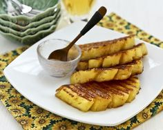 Grilled Pineapple Recipe on Yummly. @yummly #recipe