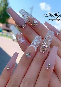your success is our reward – Ugly Duckling Nails Inc. Beautiful nails by @ hongnhungnails Best Acrylic Nails, Acrylic Nail Designs, Nails Inc, Nails Polish, Gel Nails, Stiletto Nails, Coffin Nails, Stone Nails, Cute Nails