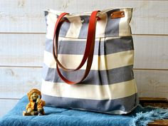 WATERPROOF Diaper bag/Messenger bag STOCKHOLM Gray