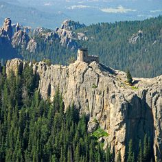 "Come hike Harney Peak in the Black Hills of South Dakota – named one of the ""25 Gorgeous Hikes you have to do in your lifetime"" by Women's Health Magazine!"