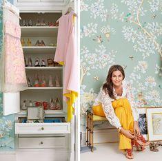 Designers in their own homes: Aerin Lauder in her Manhattan apartment #closet