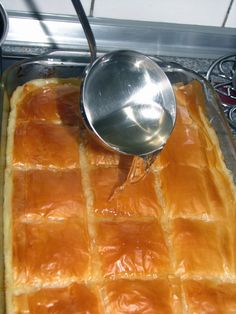 Greek Sweets, Greek Desserts, Greek Recipes, Vegan Recipes, Cooking Recipes, Meals Without Meat, Baklava Recipe, Sweet Cooking, Food For Thought