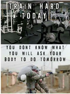 Train Hard Today Poster Police Motivational Workout Poster to encourage Law Enforcement Officers to work out and stay fit. Your body is your greatest weapon! Never forget that. Military Quotes, Military Life, Police Quotes, Ptsd Military, Soldier Quotes, Police Memes, War Quotes, Military Humor, Sport Quotes