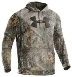 Under Armour® Camo Big Logo Hoodie Pullovers for Men - Long Sleeve | Bass Pro Shops