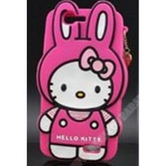 Divertida Carcasa diseño 3D Hello Kitty conejo para Ascend G7