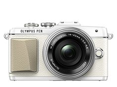Olympus E-PL7 16MP Mirrorless Digital Camera with 3-Inch LCD with 14-42mm EZ Lens (White) - International Version