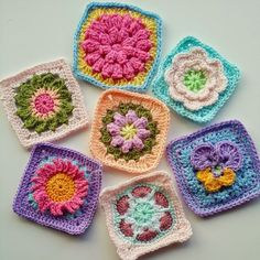 The Patchwork Heart's Community blanket Squares. Love!