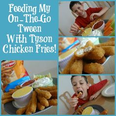 "#ad Busy kids need fuel -- I love how this mom is ""fueling his frenzied lifestyle"" with Tyson Chicken Fries!!  #ChickenFryTime"