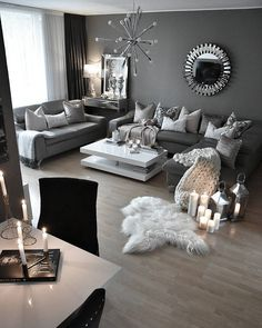 Wohnzimmer Braun U0026 Weiß @interior4inspo | Lovely Living Rooms... |  Pinterest | Living Rooms, Room And Apartments