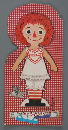 109.17864: My Raggedy Ann Doll Book | paper doll | Paper Dolls | Dolls | Online Collections | The Strong