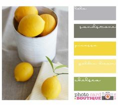 gray+and+green+color+palette | yellow, green, and grey color palette | For the Home