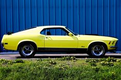 1970 Ford Mustang Mach 1 - Factory Hurst 4 Speed - 351 Cleveland