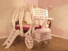 FAIRY PRINCESS CARRIAGE BED