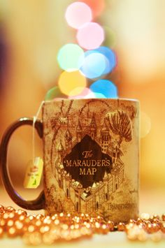 Christmas Mug by Ewa Malik http://www.bonanza.com/listings/Wizarding-World-Harry-Potter-Marauders-Map-Moulded-Mug/68704851?gpid=21297750541&gpkwd=&goog_pla=1&gclid=CN2voc-Ws7oCFc4WMgod4gkAVg