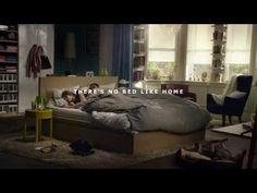 There's No Bed Like Home / IKEA The Wonderful Everyday / TV Advert Full - YouTube
