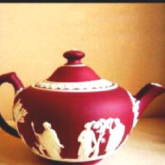 Wedgewood  Love this in red!